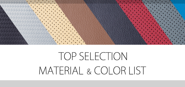 TOPSELECTION MATERIAL COLORLIST